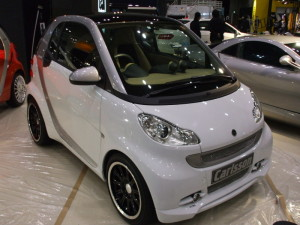 2010y Smart Fortwo Coupe Brabus