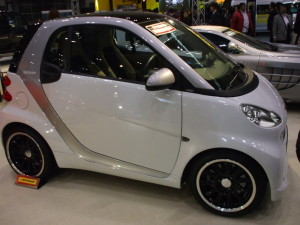 2010y Smart fortwo coupe