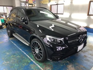 2017y Mercedes-Benz GLC43 AMG